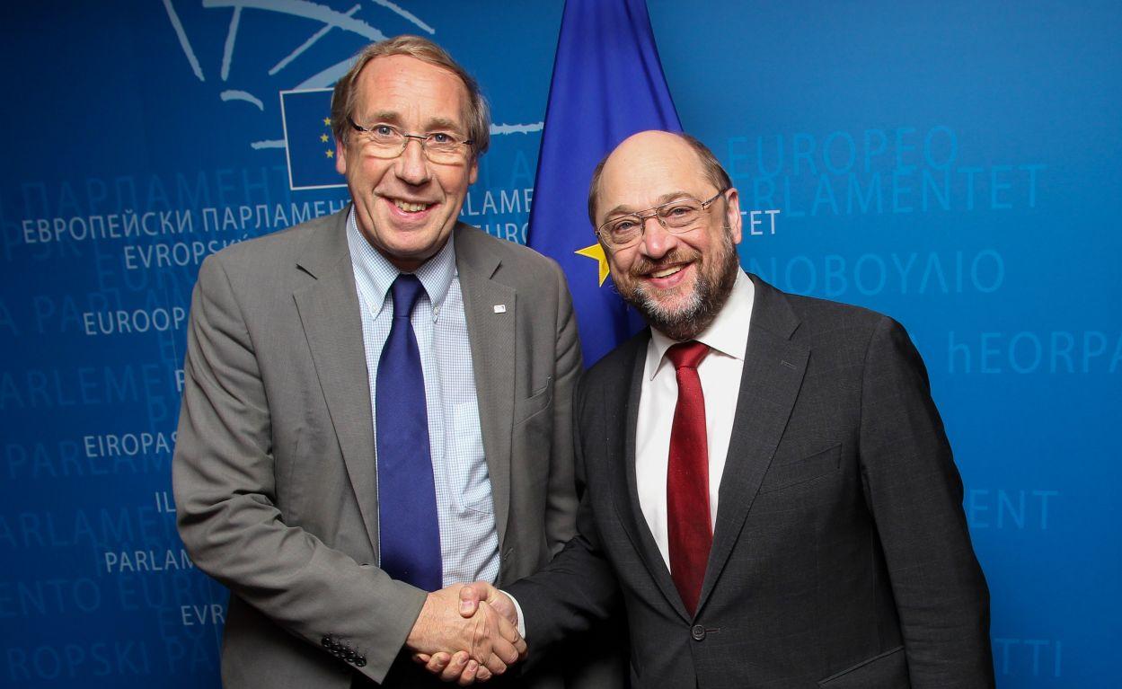Norbert Neuser _Martin Schulz